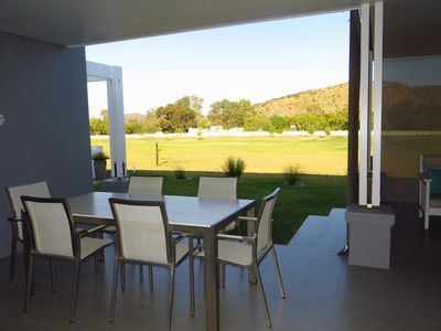 Photo for Private Modern house on Golf Estate