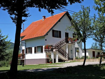 Photo for Apartment in Smoljanac (Plitvice), capacity 4+3