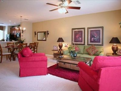 Living Room Updated with Plush Carpet/LuxuriousLiving Room Suite