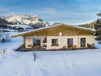 Photo for Beautiful chalet for single use with a wonderful view and pine bed