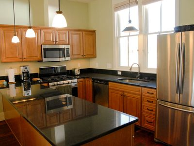 Photo for Virtually new 2 BR homebase South Main, on the River Park