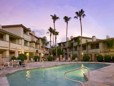 Photo for Poolside Condo to 1 of 3 Resort Pool-Spa Complexes, ALL HEATED & OPEN 24/7/365!