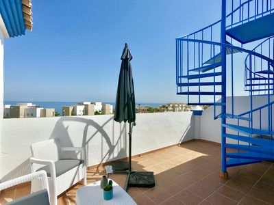 Photo for Penthouse - See Views - Costa Galera - Internet and aircon Hot and cold