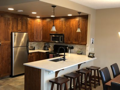 Photo for Luxury on the slopes... ski-in & ski-out with private hot tub in Woodhaven 4