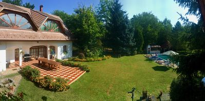 Photo for Large country villa close to Budapest. Suitable for large families and groups