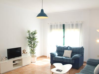 Photo for CENTRAL. Spacious and bright 2 bedroom apartment. BEACH a few meters.
