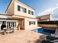 A fabulous villa very well presented and well equipped and very spacious with a decent sized pool