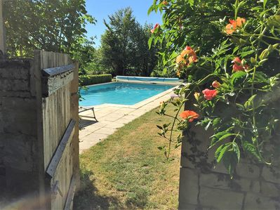 Lovely 10x5 heated swimming pool