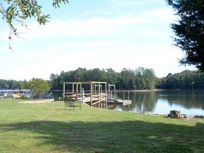 Photo for The Boujee Shack - Custom renovated lake front home, new dock & floater
