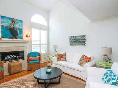 Photo for Beautiful, Bright, Mid-Island Home with HOT TUB! Short Walk to Beach