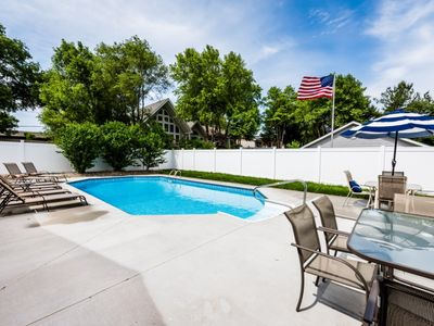 Photo for (Three Night Summer Minimum!) New Buffalo Home with Private Pool Close to Marina, Beach, and Downtown!