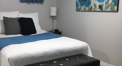 Photo for The Best place to Stay  Home Away From Home - The Calm Blue with Private Bathroom  Queen size bed for two
