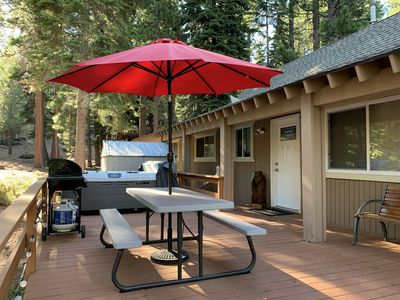 Photo for The Lazy Bear Cabin- Pet Friendly w/ Hot Tub!