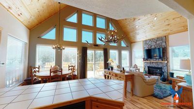 Photo for Great Views; Large Deck; Pet Friendly; Game Table! Longhorn Lodge