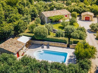 Photo for 3 bedroom Provençal style villa, private pool, Wi-Fi, BBQ & terrace