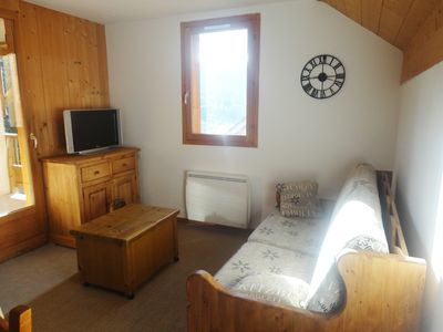 Photo for Apartment 50 M2 Saint Jean d'Arves at the foot of the slopes (310 kms) + Pool