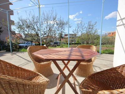 Photo for One bedroom apartment with terrace Podstrana (Split)