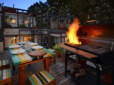 Photo for Palermo Soho gem with BBQ and Terrace!
