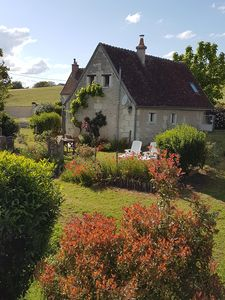 Photo for A beautiful cottage in the heart of the Loire valley full of charm and character