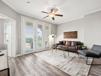 Photo for Bright and Beautiful Apartment with Private Patio