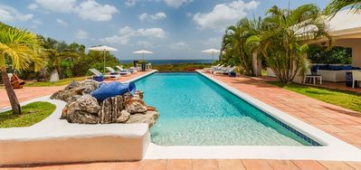Villa La Pergola -  Ocean View - Located in  Tropical Terres Basses with Private Pool