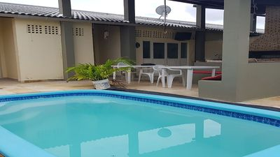 Photo for House with WiFi pool Águas Belas Caponga
