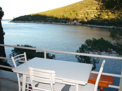 Photo for Holiday house Dob  - Cove Stoncica (Vis), Island Vis, Croatia