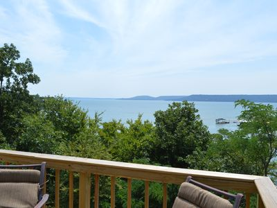 Photo for Lakefront House Right On The Water  and Best Part of the Lake-Very Modern