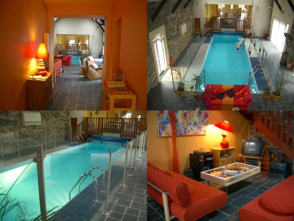 Location Vacances Maison Saint Martin: Piscine / Salon