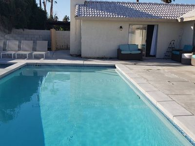 Photo for Brand New Pool/Jacuzzy.1mile Fr Palm springs