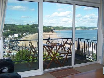 Photo for Mussell Reach is a well presented apartment with fantastic panoramic views over Saundersfoot village