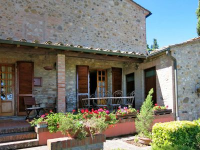 Photo for Vacation home Casetta Castagni II (OCT101) in Orciatico - 8 persons, 3 bedrooms