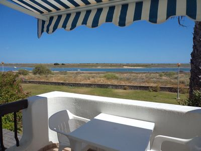Photo for 1 bedroom apartment on the sea front of Cabanas De Tavira
