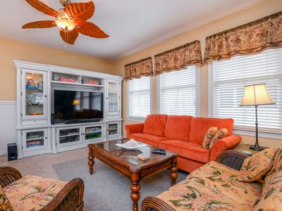 Photo for Beautiful Decor & Newly-Updated - Close to Pools, Clubhouse & Private Beach!