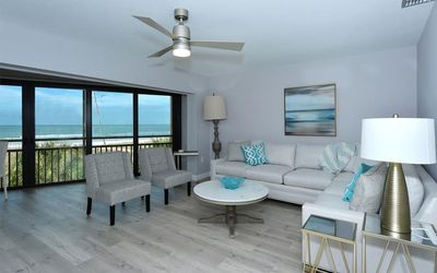 Beach front ocean views from your living room