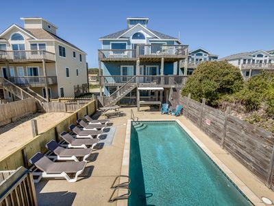 Photo for Bikinis and Martinis | Oceanfront | Private Pool, Hot Tub
