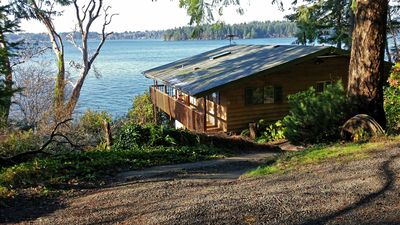 Photo for Secluded Beachside Home on Harstine Island