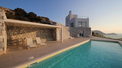 Photo for CONTEMPORARY VILLA WITH IMPREGNABLE VIEW