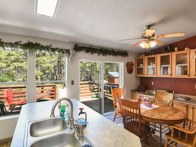 Photo for Gorgeous & Historic 3 BR Log Cabin w/ Forest Views / 20 minutes from Flagstaff