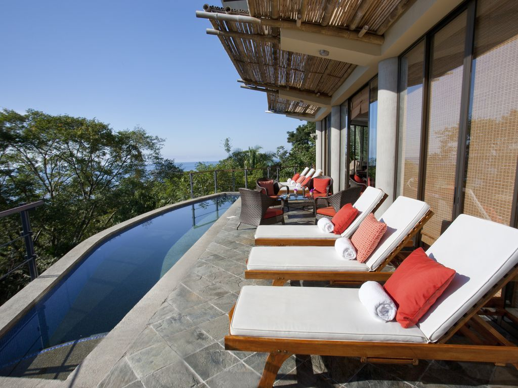 Stunning costa rica top rated luxury villa ocean views for Costa rica house rental with chef