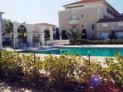 Photo for Rental flat t2 in residence with swimming pool in lavandou.