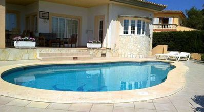 Photo for Great Modern Villa 3 Bedrooms Pool 600mtrs from beach Wifi