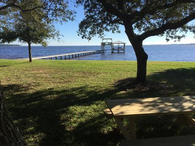 Photo for Quaint Waterfront Home W/ Seperate Guest House On Perdido Bay