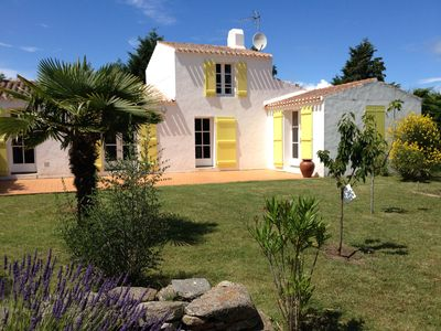 Photo for Family house with garden, Ile d'Yeu, 3 comfortable rooms.