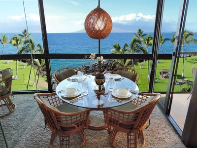 Room with a view!  Enjoy these magnificent views right from your dining area.