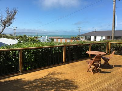 Photo for The Mermaid Beach House at Kaka Point- Sunny, private, family friendly bach