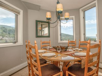 Photo for Close to slopes, AMAZING views, comfortable. An ideal Steamboat condo!