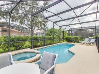 Photo for Spacious home w/ a private pool, resort amenities, 5 miles from Disney World!