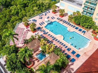 Photo for Steps away from the sandy Sunny Isles Beach w Private and Spacious Balcony
