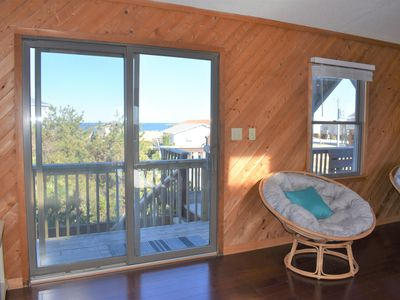 Photo for South Nags Head Oceanside Bliss 4 Bedroom House No Street to Cross to Beach